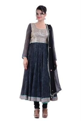 Aashma Fashion Llp Self Design Kurta & Churidar