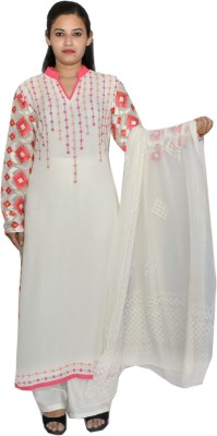 Haya Embroidered Kurta & Churidar