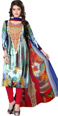 PP Unique Creations Printed Kurta & Churidar