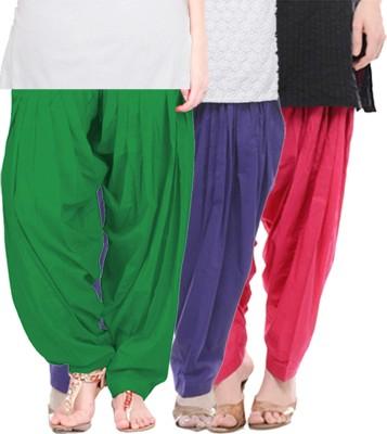 yuvraj creation Cotton Solid Salwar