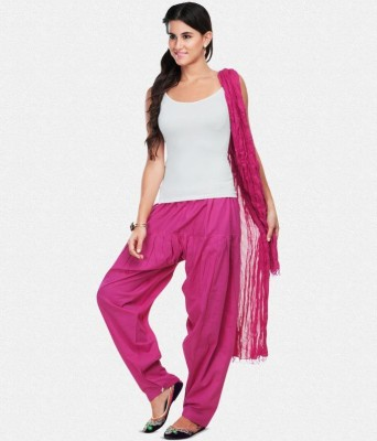 Scorpio Fashions Cotton Solid Patiala