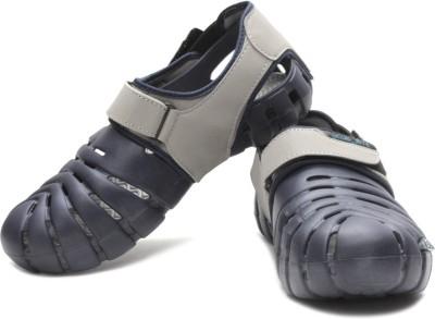 Globalite Parko IV Men Grey, Navy Sandals
