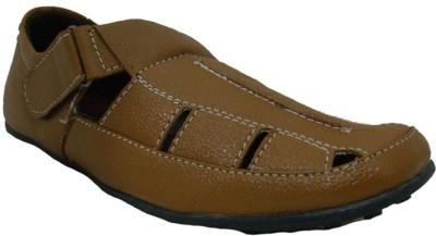 Senso Vegetarian Men Tan Sandals