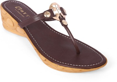 Zotti Women Brown Wedges