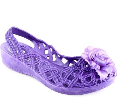 Aashka Women Purple Flats