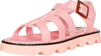 Ole Baby Boys Pink Sandals