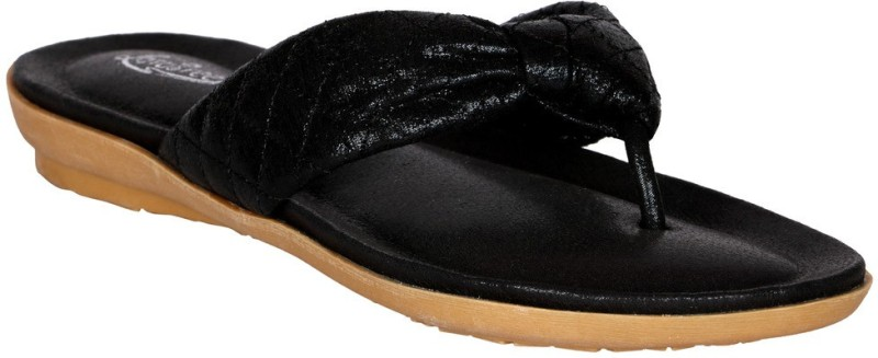 Lotusfeet Women Black Flats