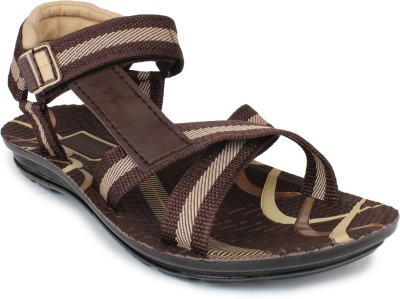 SCANTIA Men Brown Sandals