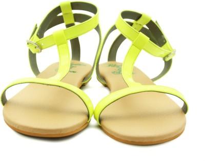 Rhythm & Shoes Women Yellow Flats