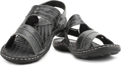 Lee Cooper Men Black, Grey Sandals