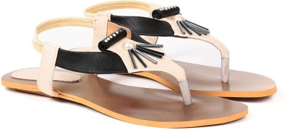 Ka Fashion Women Black Flats