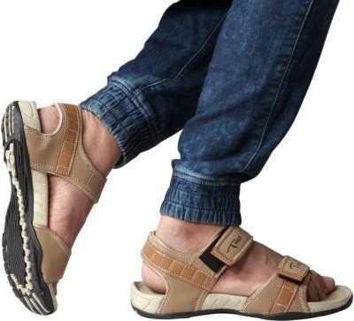 BIG JUNIOR Men Beige Sandals
