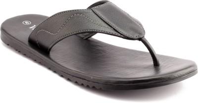 Vitello Men Black Sandals
