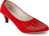Bapu Beta Women RED Heels