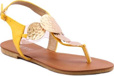 Willywinkies Women Yellow Flats