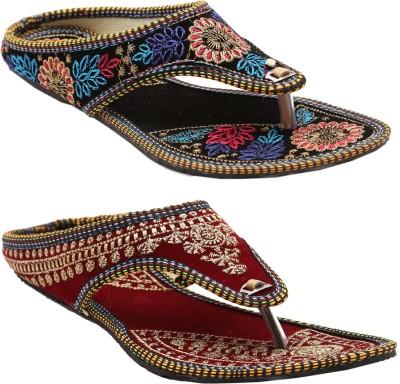 Ridhi Sidhi Women, Girls Multicolor Flats
