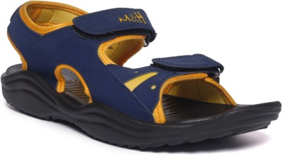 M&H Men Blue, Yellow Sandals