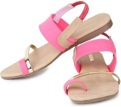 Geetika Women Pink Flats