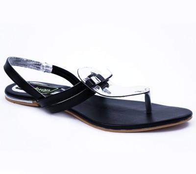 Relexop Women Black Flats