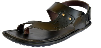 Shoe Day Men Black Sandals
