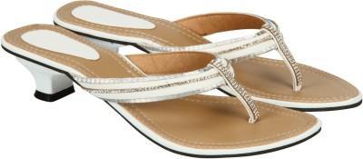 Edge Plus Women Silver Heels