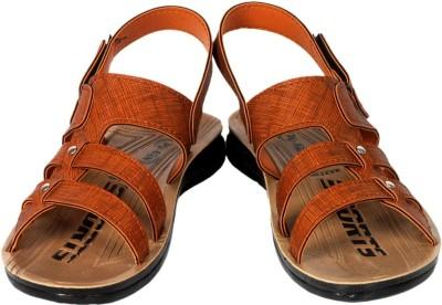 Fuoko Men, Boys Tan Sandals