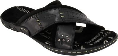 Urban Country Men Black Sandals