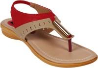Girlstep Women Red Flats