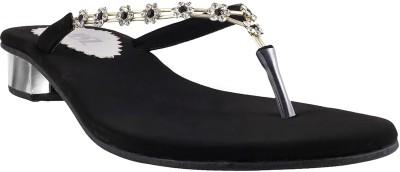 MSL Women Black Flats