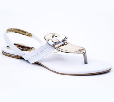 Relexop Women White Flats
