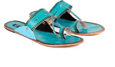 TEN Women Blue Flats
