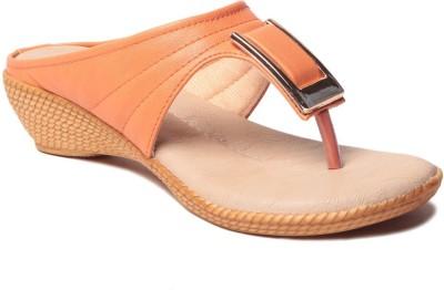 MSC Women Orange Flats
