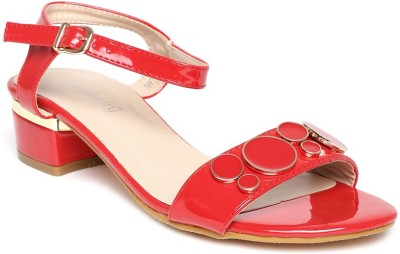 Dressberry Women Red Heels at flipkart
