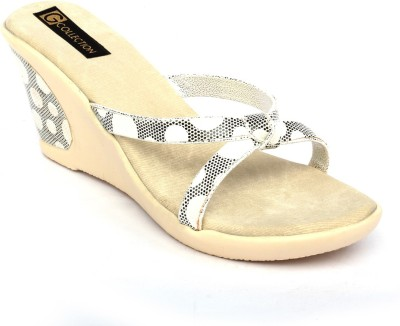 Gcollection Women White Wedges