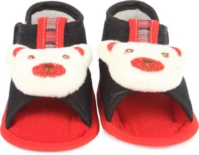 Instabuyz Baby Boys, Baby Girls Black Sandals