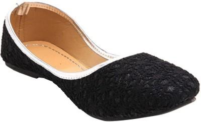 STEP INDIA Girls Black Flats