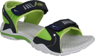Aero Men Grey, Green Sandals