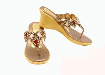 Canvera Women Tan Heels
