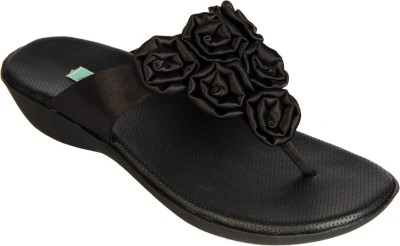 Awssm Women Black Flats