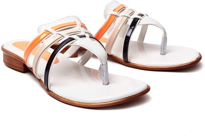 Nell Women Orange Flats