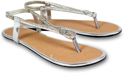 Dezire Women Silver Flats