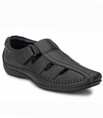 Mactree Men Black Sandals