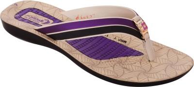 Poddar Women Purple Flats