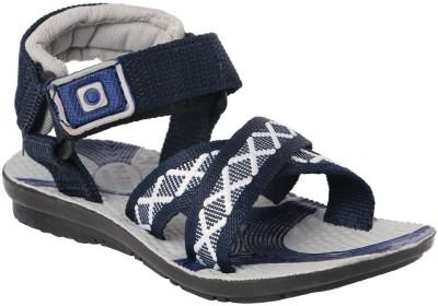 11e Boys Navy, Grey Sandals