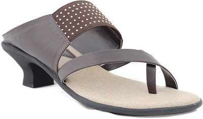 Trendy Enterprises Women Brown Heels