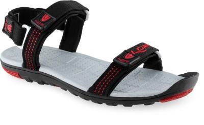 Lancer Men Black Sandals