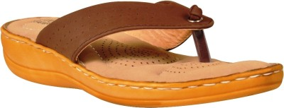 Flois Women Brown Sandals