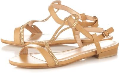 Vero Couture Women Beige Flats