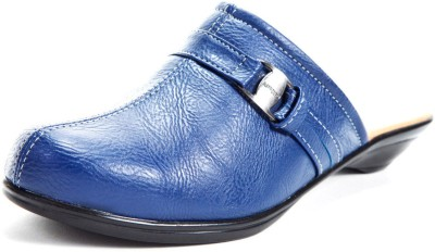 Marc Loire Bailey Button Women Blue Heels
