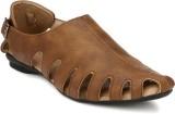 ElPaso Men Beige Sandals